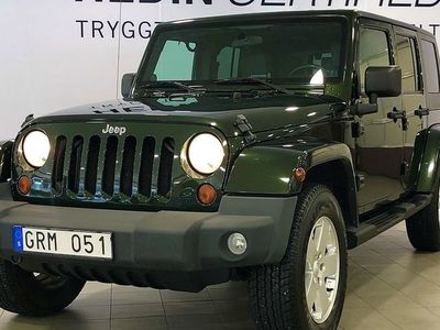 begagnad Jeep Wrangler Unlimited Sahara 3.8 V6 199hk