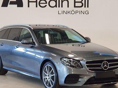 begagnad Mercedes E220 AMG Parkeringsvärmare Dragkrok Minnespaket DISTRONIC DEMO