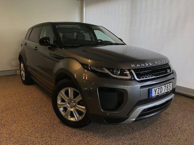 begagnad Land Rover Range Rover evoque 2.0 TD4 4WD Dynamic SE Navi Panorama