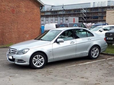 begagnad Mercedes C220 CDI Blueeffience