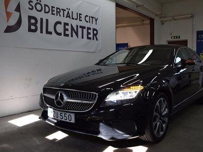 begagnad Mercedes CLS220 d 9G-Tronic AMG-PAKET Euro 6 170HK/Svensksåld