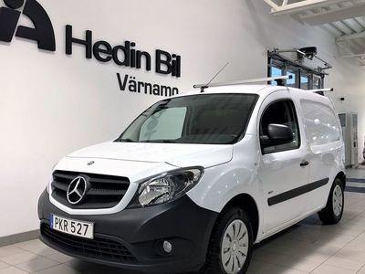 begagnad Mercedes Citan 109 - BenzLÅNG / DRAG / V - HJUL / LÅG SKATT!