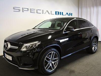 begagnad Mercedes 350 GLE Benzd 4M Coupé AMG Sport Navi Värmare Drag 2017, SUV 499 000 kr