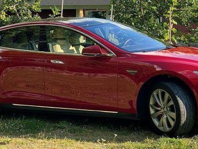 begagnad Tesla Model S P85DL Endast Sommarkörd