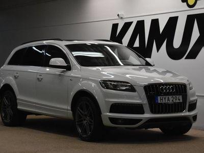 begagnad Audi Q7 3.0 TDI V6 Q | S-Line | 7-sits | Panorama | Värmare | Drag | S&V 2014, SUV 258 800 kr