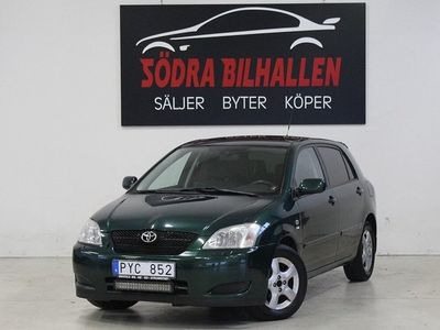 begagnad Toyota Corolla Halvkombi 5-dörrars 1.6 VVT-i 110hk