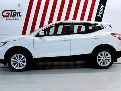 begagnad Nissan Qashqai 1.2 DIG-T Euro 6 115hk *M-värmare, GPS, Backkamera