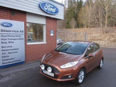 gebraucht Ford Fiesta 5-dörrar 1.0 EcoBoost Euro 6 100hk