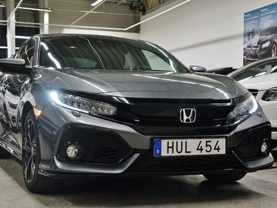 begagnad Honda Civic 5-dörrar Sport Plus Turbo Navi Panorama 182hk