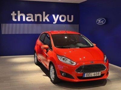 begagnad Ford Fiesta 1.0 EcoBoost 100hk Titanium (
