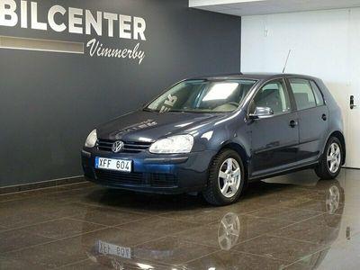begagnad VW Golf 5-dörrar 1.6 102hk