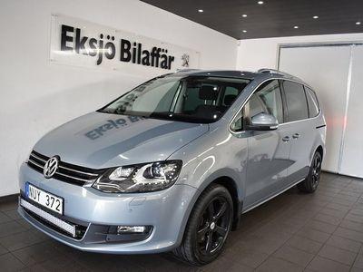begagnad VW Sharan 2.0 TDI 4Motion 7-sits *Drag,Värmare*