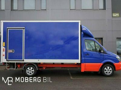 begagnad Mercedes Sprinter 319 BlueTEC 190hk Volymskåp BG-Lyft