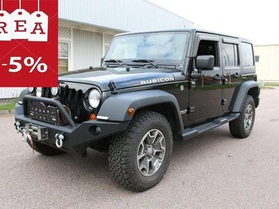 begagnad Jeep Wrangler Unlimited RUBICON 4WD 3,6l V6