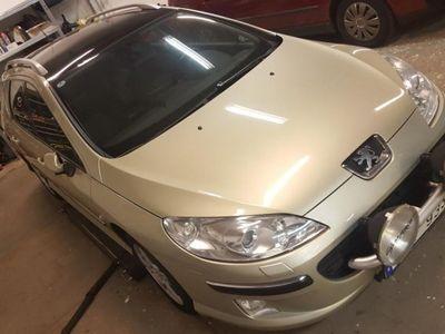 begagnad Peugeot 407 SW 2,0 HDI 136hk.Drag Panorama -05