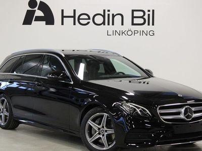 begagnad Mercedes E220 KOMBI AMG-LINE PARKERINGSVÄRMARE DRAGKROK DEMO