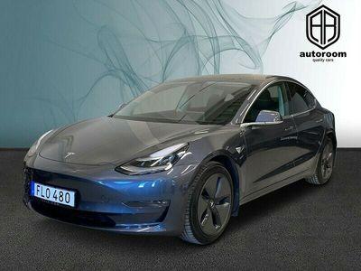 begagnad Tesla Model 3 Long Range AWD Pano Premium AP 2019, Halvkombi Pris 557 000 kr