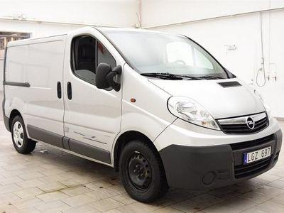 begagnad Opel Vivaro 2.0 CDTI 114hk 3-SITS / NYBESIKTIGAD