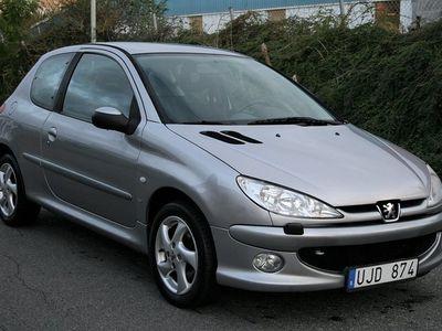 begagnad Peugeot 206 3-dörrar 1.6 XS 109hk