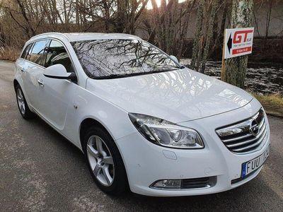 begagnad Opel Insignia Sports Tourer 2.0 BiTurbo CDTI 4x4 Automat 195hk