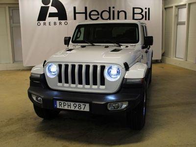 begagnad Jeep Wrangler WRANGLER 2.0T GME SAHARA 8ATX MY18