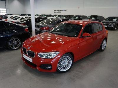 begagnad BMW 118 i M-Sport Automat Läder LED Strålkastare