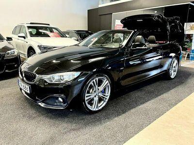 begagnad BMW 435 i Convertible Euro 6 306hk Navigation Pro Hifi