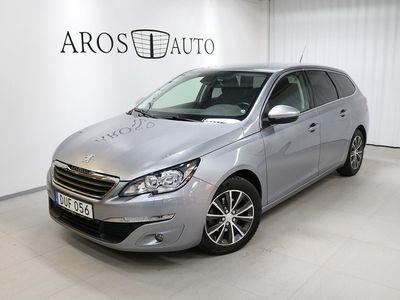 begagnad Peugeot 308 SW 1.2 Active 2015, Kombi 110 000 kr