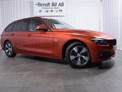 begagnad BMW 318 d Touring Connected