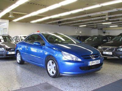 begagnad Peugeot 307 CC 2,0/Lågamil/136HK