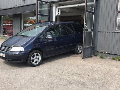 begagnad VW Sharan 2.0 7-sits 115hk