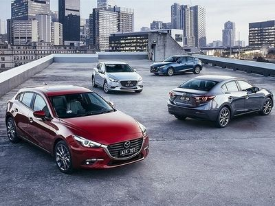 begagnad Mazda 3 Optimum 2,2 DE 150hk Automat 10års garanti - NYHET Halvkombi 2017