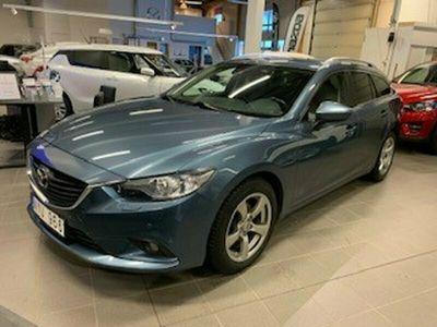 begagnad Mazda 6 2.2D AWD Vision drag, vhjul,