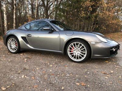 begagnad Porsche Cayman S 3.4 Sport Chrono - Lågmilare -06