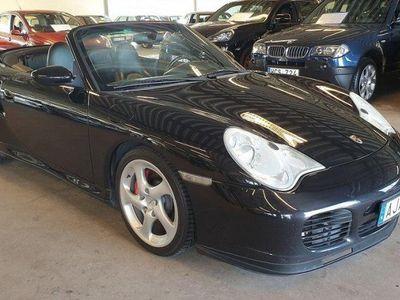 begagnad Porsche 911 Turbo Cabriolet 3.6 H6 4 420hk