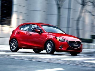 begagnad Mazda 2 1.5 90hk 6aut Optimum, svart skinn