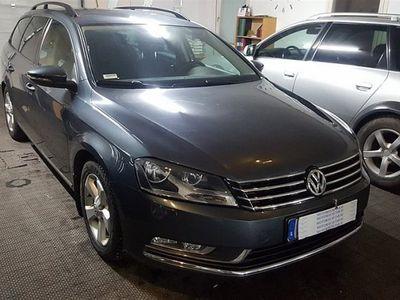begagnad VW Passat 2,0 TDI (M-VÄRMARE+FARTHÅLL -12