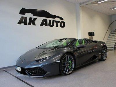 begagnad Lamborghini Huracán HuracánSpyder 610hk Sen