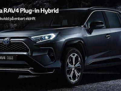 begagnad Toyota RAV4 Plug-in Laddhybrid 306hk 75km på el!