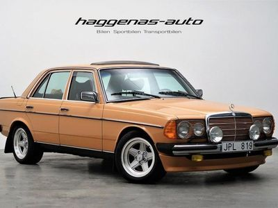 brugt Mercedes 230 Manuell / Svensksåld / Unik