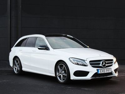 begagnad Mercedes C250 T d 4M 4MATIC AMG PANORAMA BOWERS & Wi Euro 6