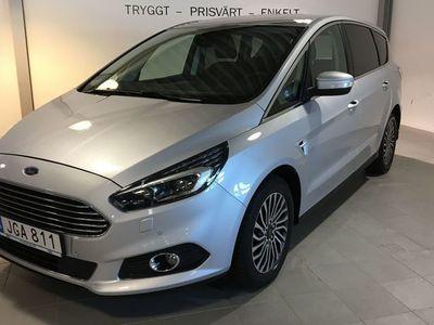 begagnad Ford S-MAX 2.0 TITANIUM 7-SITS NAVI