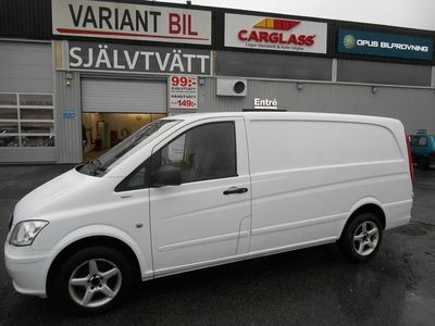 begagnad Mercedes Vito Benz 113 CDI 3-Sits Drag 1 Ägare 2011, Transportbil 79 000 kr