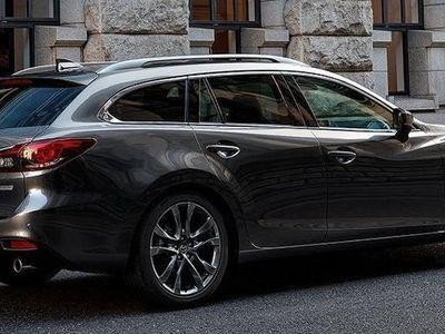 begagnad Mazda 6 Wgn AWD A6 2.2 DE Optimum 175 hk Svart skinn Webasto