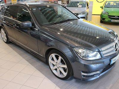 begagnad Mercedes C220 CDI Kombi BlueEfficiency S204 (170hk)