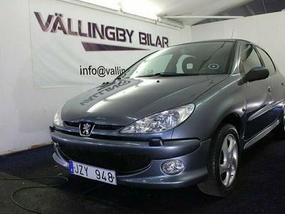 begagnad Peugeot 206 5-dörrar 1.6 XS(109hk) Besiktad,Full Servic