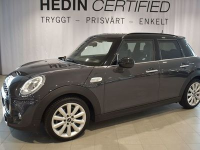 begagnad Mini Cooper S 5d Wired Chili Navi