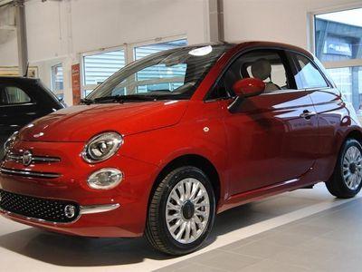 begagnad Fiat 500 1,2 69hk Lounge Glastak *KAMPANJ* *NYA MODELLEN*