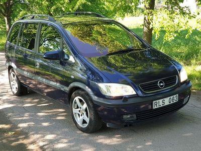 used Opel Zafira 1.8 Automat 7-sits 115hk