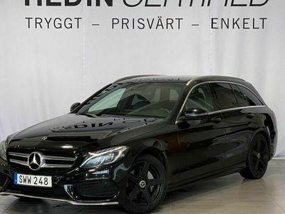 begagnad Mercedes 220 - Benz C - Klass170HK AMG - Sport Drag Panorama